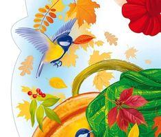 Rooster, Rabbit, Clip Art, Cartoon, Fall, Animals, Thanksgiving, Decoration, Bricolage