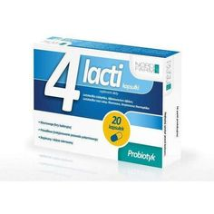 4 x 20 capsules Lactia, probiotics after antibiotics Medical Packaging, Best Probiotic, Packaging Design Inspiration, Box Design, Package Design, Product Design, Branding Design, Catalog, Brand Design