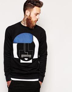 HAN+Sweatshirt+with+Bauhaus+Embroidery