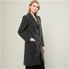 Shop All Women's Clothing Department - Donegal Tweed Coats, Jackets & Luxury Knitwear Tweed Coat, Boyfriend Style, Donegal, Woven Fabric, Knitwear, Cashmere, Women Wear, Touch, Pockets
