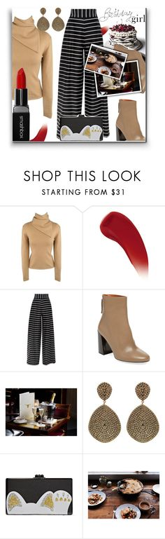 """IT'S MY BIRTHDAY!!!!"" by katrina-byrd-jones ❤ liked on Polyvore featuring Ralph Lauren, Lipstick Queen, Pure Navy, Edie Parker, Kale and Smashbox"