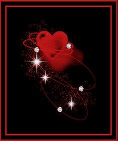 Happy Valentine's Day heart animated gif