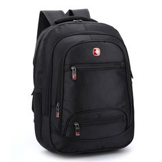 swiss Men 14-15.6 inch Laptop bags waterproof oxford backpacks hot school black hot Business rucksacks 2016