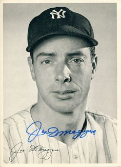 Joltin Joe DiMaggio | Mantle, DiMaggio, Gifford, Monroe, Dean enduring legends