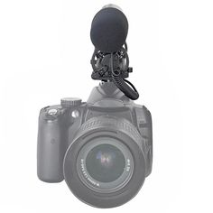 Recording Microphone for Canon/Nikon Nikon, Office Gadgets, Latest Gadgets, Audio, Childrens Party, Binoculars, Crystals, Sensitivity, Accessories