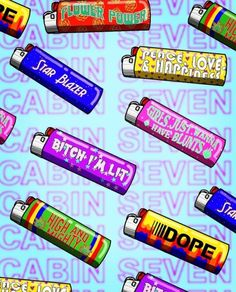 weedfordays: different lighters Weed Wallpaper, Medical Wallpaper, Aesthetic Iphone Wallpaper, Wallpaper Backgrounds, Weed Backgrounds, Hipster Wallpaper, Hipster Drawings, Trippy Drawings, Couple Drawings