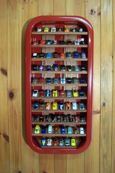 Radio Flyer Hot Wheels Wall Display Holds 75-80 Cars by CNSwholesale on Etsy