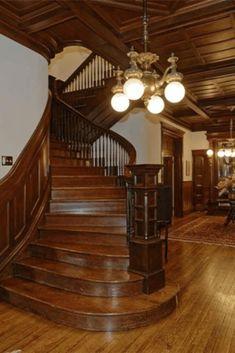 Luxury Home Design Mansion Interior, Apartment Interior Design, Interior Decorating, Mansion Bedroom, Decorating Games, Decorating Websites, Victorian Interiors, Victorian Homes, Foyers