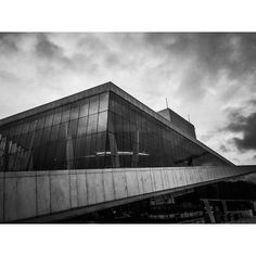 "The opera in Oslo/Norway. #bandw #black #white #whiteborders #whiteborder #blackandwhite #iphone6scamera #mobilephotography #phonephotography #iphoneography #iphonography #operahouse #operanorway #oslo #osloopera #architecture #dramatic #visitoslo #visitnorway #sky #clouds #vignette #cloudy #windows #clarity #contrast by noahmp1 Follow ""DIY iPhone 6/ 6S Cases/ Covers/ Sleeves"" board on @cutephonecases http://ift.tt/1OCqEuZ to see more ways to add text add #Photography #Photographer #Photo…"