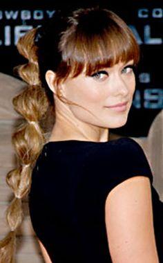 Banded ponytail