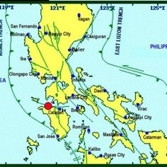 Earthquake Manila: Philippines Hit by Magnitude Quake — Newsweek Mindoro, Manila Philippines, San