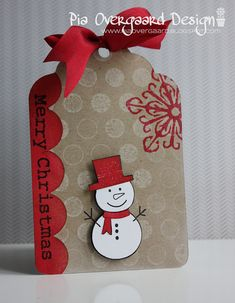 merry christmas_tag by Pia Overgaard, via Flickr