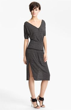 Tracy Reese Split Shoulder Jersey Dress available at #Nordstrom
