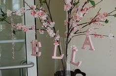 Diana and Ellis' Pink and Brown Baby Shower | CatchMyParty.com