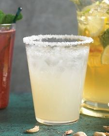 Salty Dog - but use pink grapefruit juice & call pink salty dog or rim with sugar