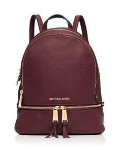 MICHAEL Michael Kors Small Rhea Zip Backpack | Bloomingdale's
