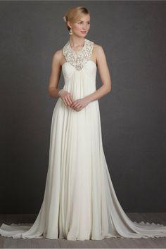 Fantásticos vestidos de novia | Colección BHLDN 2014