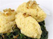 Jahelno-bramborové šťouchance se špenátem Potato Salad, Cauliflower, Ale, Potatoes, Vegan, Vegetables, Cooking, Ethnic Recipes, Food