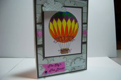 The Sky's The Limit  Handmade Greeting Card by Smiles4Paper