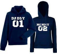 Komplet mikiny s kapucňou pre páry Problems 99 Daddy, Hoodies, Sweaters, Fashion, Moda, Sweatshirts, Fashion Styles, Parka, Sweater