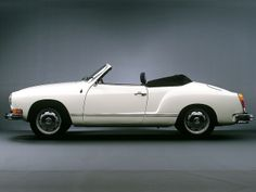 VW Karmann Ghia Cabrio.  My Dream Car!