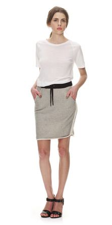 Margot Sporty Sweat Skirt