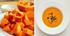 Zdravá hokkaido polievka - Receptik.sk Thai Red Curry, Ale, Mango, Eggs, Fruit, Breakfast, Ethnic Recipes, Food, Kitchen