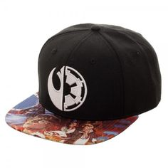 b82c68d0d7e8f This item up for sale is the Retro Classic Star Wars Split Logo Sublimated  Bill Snapback