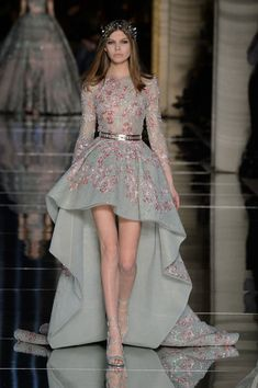 Zuhair Murad dress at Couture Fashion Week 2016 (All Runway Looks)