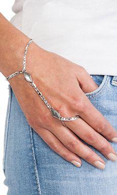 Vanessa Mooney River High Handpiece in Silver | REVOLVE