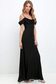 Reflective Radiance Black Maxi Dress at Lulus.com! $58