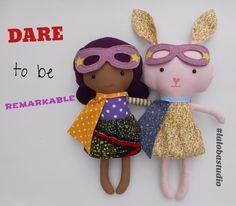 Dare to be remarkable! >>visit my dollshop link in profile! #lalobastudio #etsy #becauseofthemwecan  #blackhistorymonth #bhm #africanamerican #mixedkids #blackkids #dreamfearlessly #dollsanddaydreams #happyblackhistorymonth #superherogirl #empower #blackgirls #naturalhair  #bunnygram #bunnylove #superhero #cute #kawaii #usagi #dollsanddaydreams #kids  #easter #easterbunny #love #rabbit #bunny