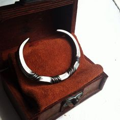 Hand forged Viking Oath Ring Bracelet - Four Twists