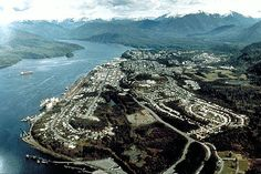 Aerial View of Prince Rupert
