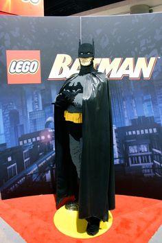 Batman Lego sculpture