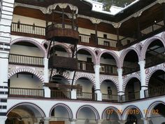Rila monastery Bulgaria, Mansions, House Styles, Home Decor, Mansion Houses, Decoration Home, Manor Houses, Villas, Fancy Houses