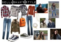 """Bella Swan's Style"" by bella-swan-wannabe ❤ liked on Polyvore"
