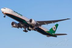 EVA Boeing 777-300ER (B-16733)