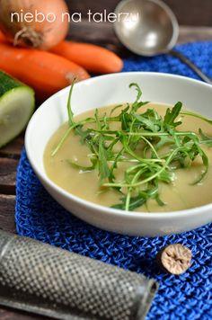 Zupa krem ziemniaczana - niebo na talerzu