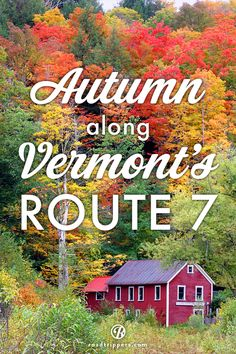 Starting at Mad Tom Notch this road trip takes you through the beautiful Green Mountains of Vermont.