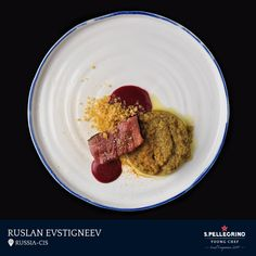 Ruslan Evstigneev, chef at restaurant Pushkin in Kazan, is the best chef in the Russia-CIS region having impressed the local jury with his signature dish, 'Horse, kumiss, and barley.