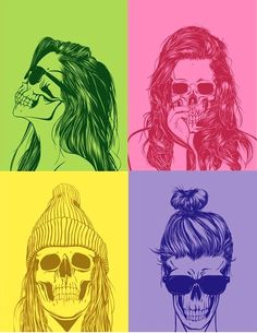 ☮✿★ SKULLS ✝☯★☮
