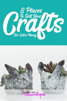 Here are some of the best places you can sell your crafts and goods to earn easy money fast.    #onlinestore #crafts #shopping