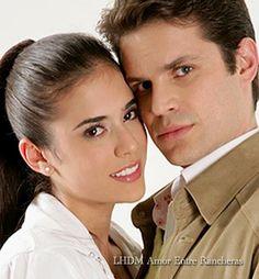 Mark Tacher y Carolina Ramírez
