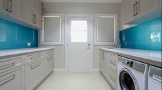 Our collection of laundry cabinet designs would enthrall you. Home Appliances, Laundry Cabinets, Home, Cabinet, Kitchen, Bathroom Renovations, Cabinet Design, Laundry, Renovations