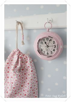 We've got the Cath Kidston bag, just need that beautiful clock!