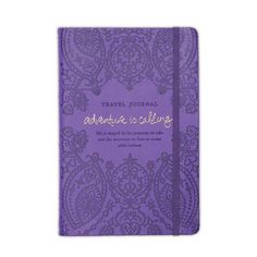 Luxe Travel Journal - Violet