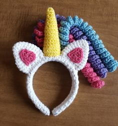 Unicorn headband - one size fits most. Great for costumes or everyday playtime dress-up. Perfect for every imaginative child or kid at heart.