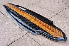 #carbon fiber #longboard #wood