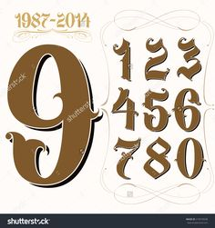 stock-vector-tattoo-set-of-la-style-gangster-numbers-219575638.jpg (1500×1600)